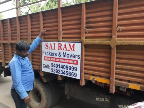 SaiRam Packers and Movers in hyderabad